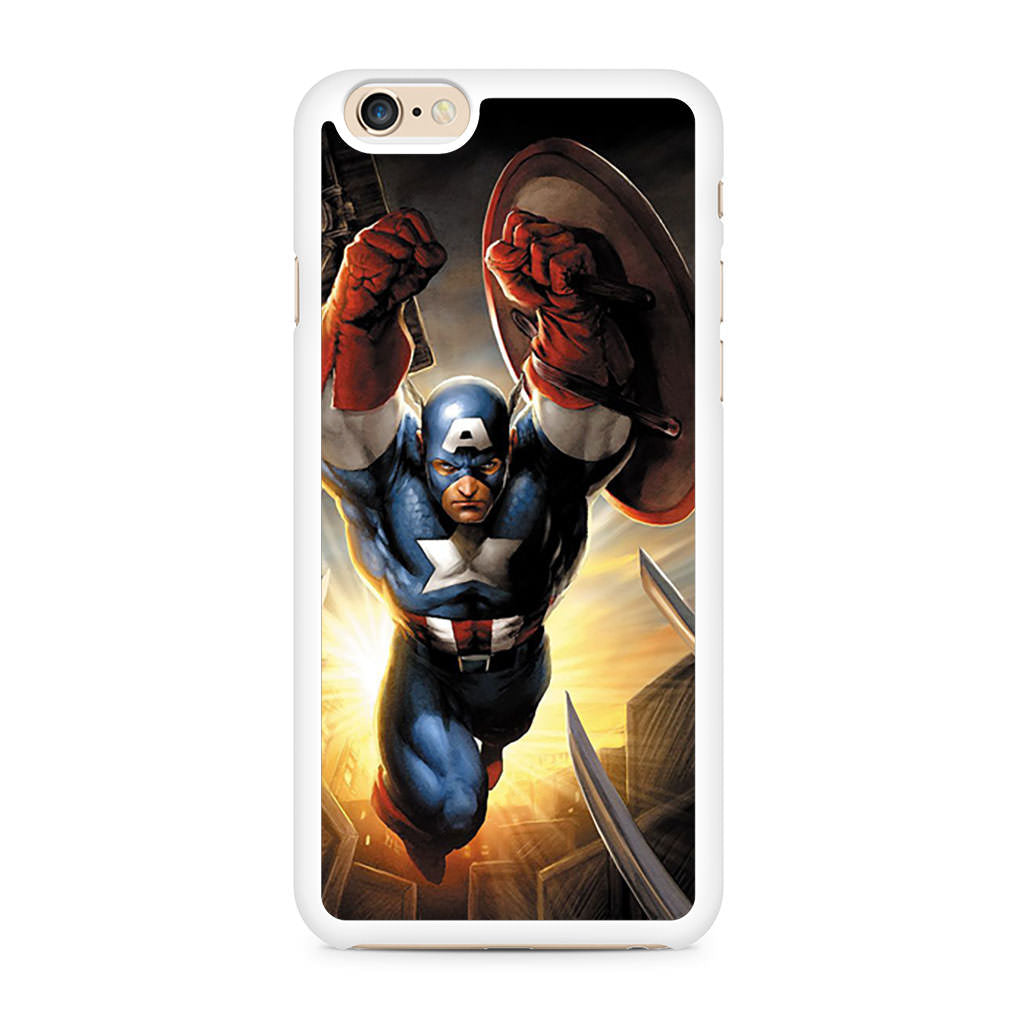 Captain America Art iPhone 6/6s case