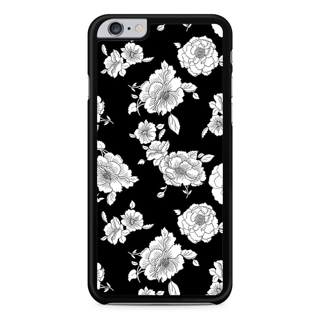 Black And White Flower iPhone 6 Plus / 6s Plus case