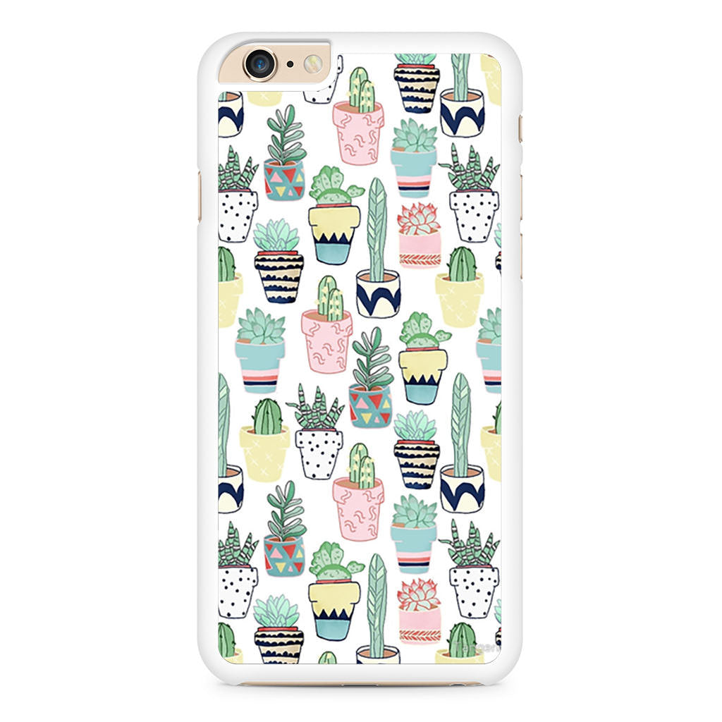 Cute Cacti iPhone 6 Plus / 6s Plus case