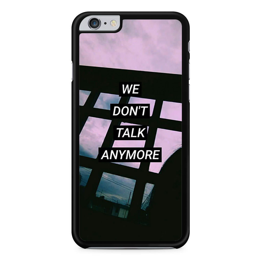 Charlie Puth Lyrics iPhone 6 Plus / 6s Plus case