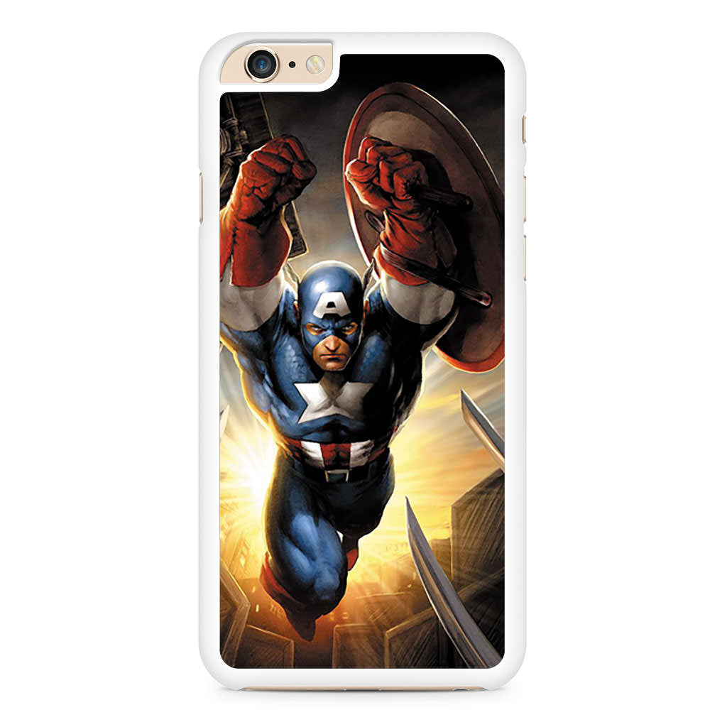 Captain America Art iPhone 6 Plus / 6s Plus case