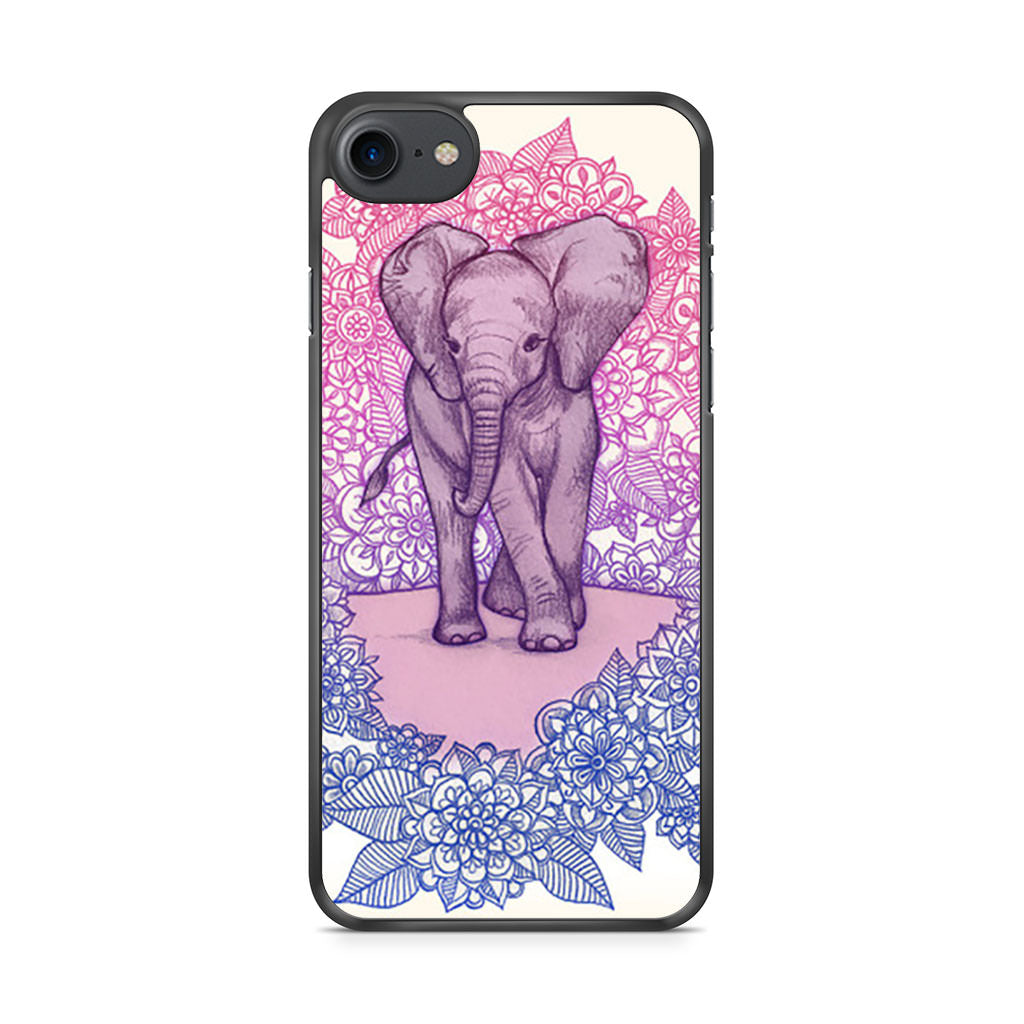 Cute Baby Elephant iPhone 7 case