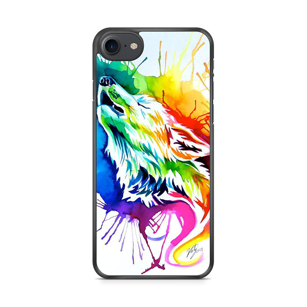 Color Wolf iPhone 7 case