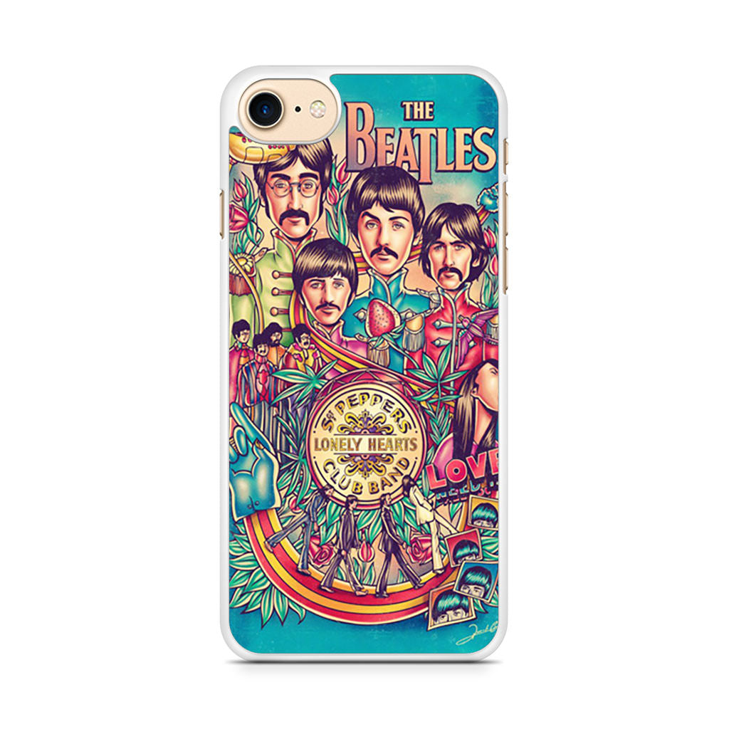 Beatles Poster iPhone 7 case