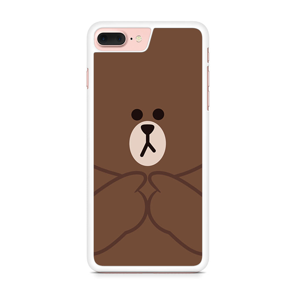Brownmolang Line iPhone 7 Plus case
