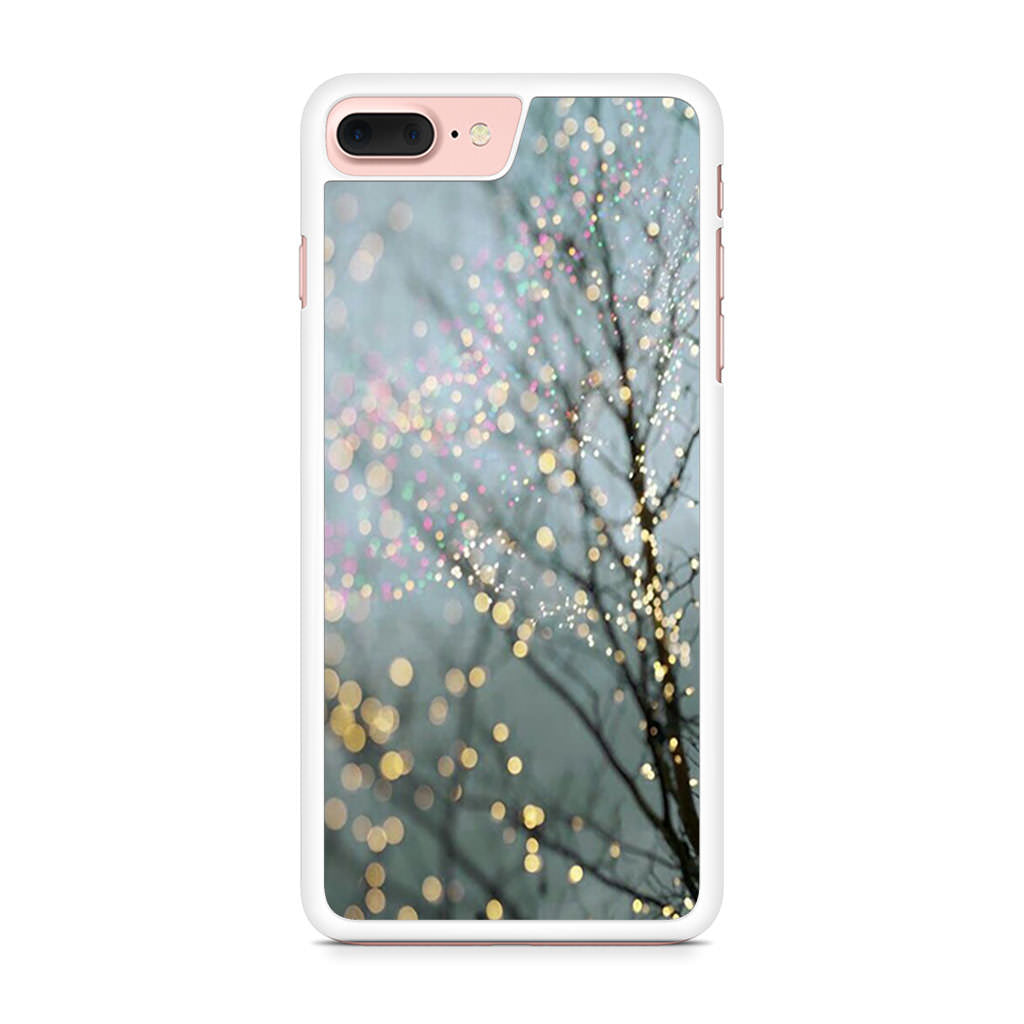 Blurry Festive Tree iPhone 7 Plus case