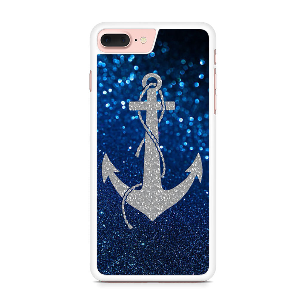 Anchor Glitter iPhone 7 Plus case