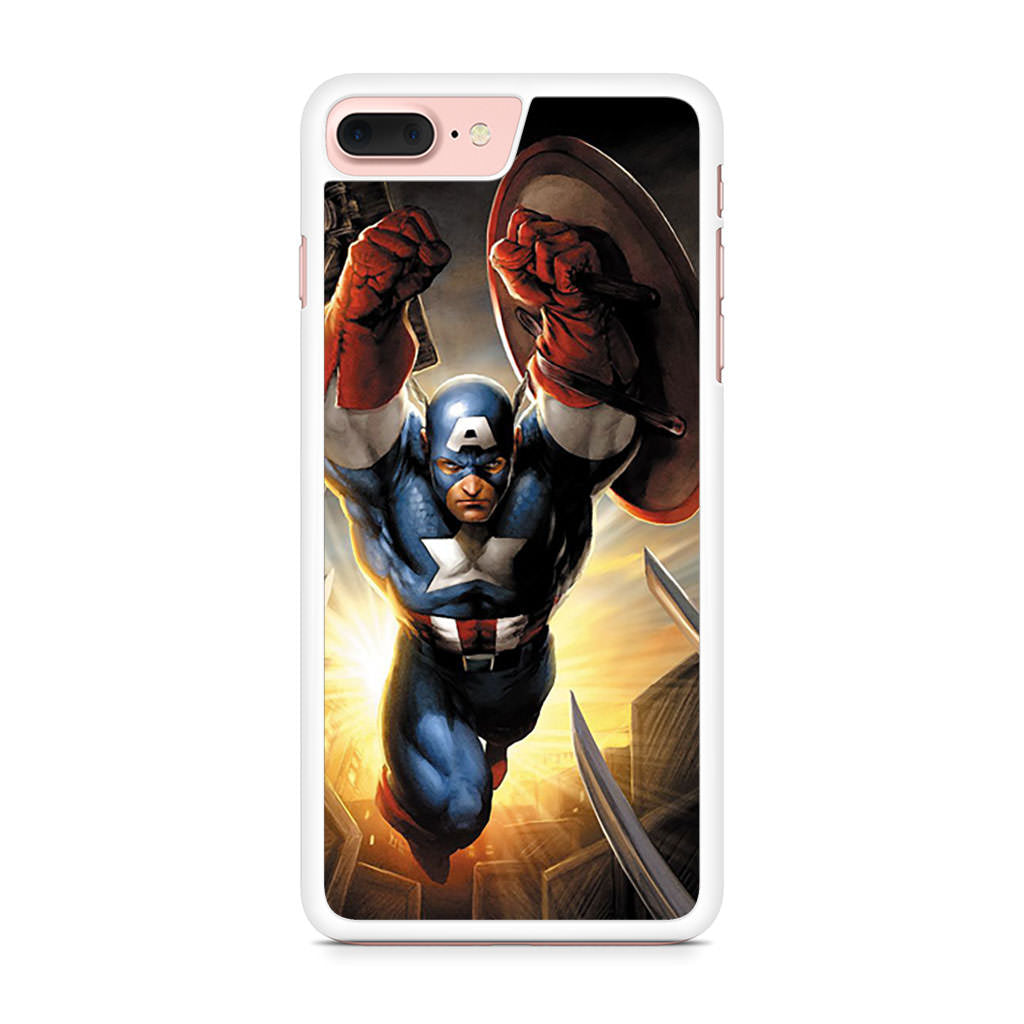Captain America Art iPhone 7 Plus case