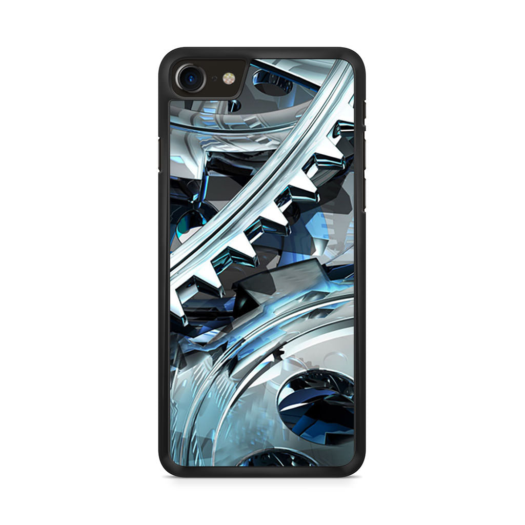 3D Cool Wheel Gear iPhone 8 case