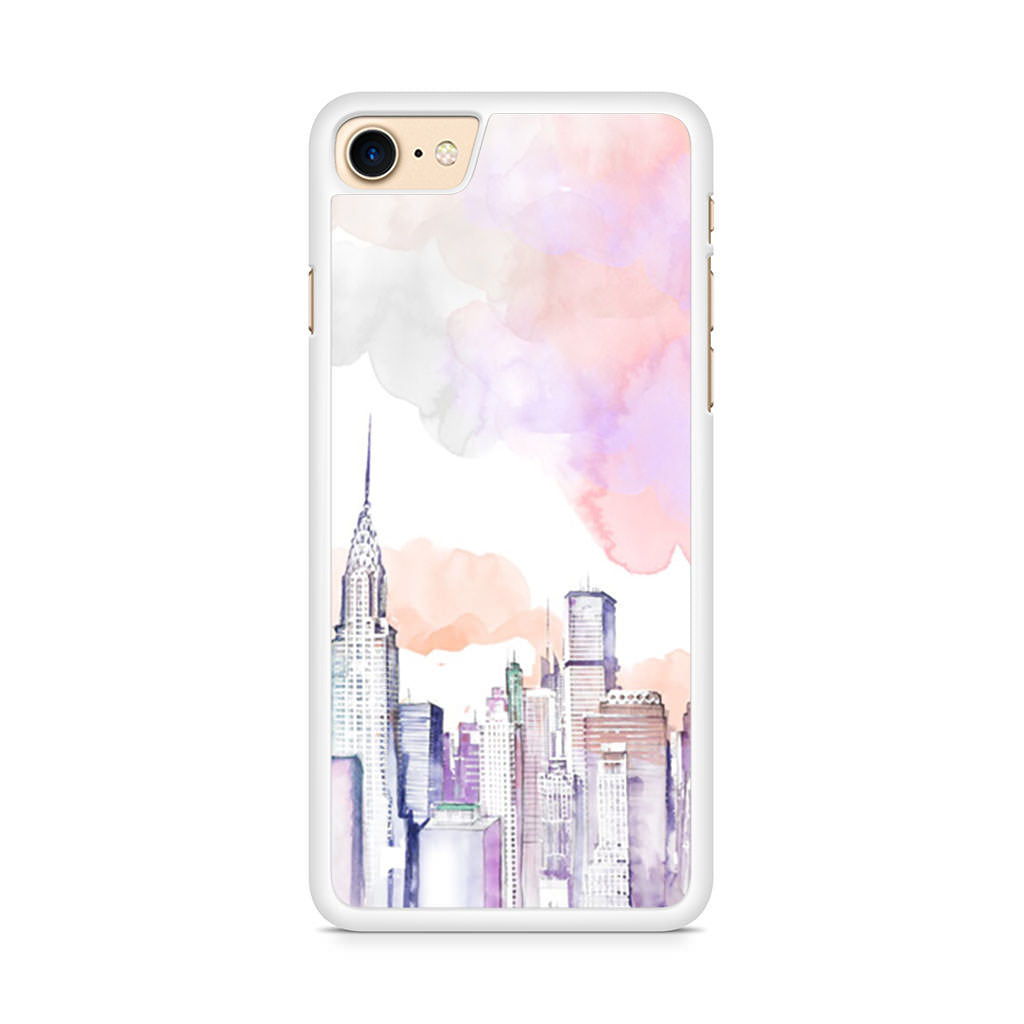 City Drawing iPhone 8 case