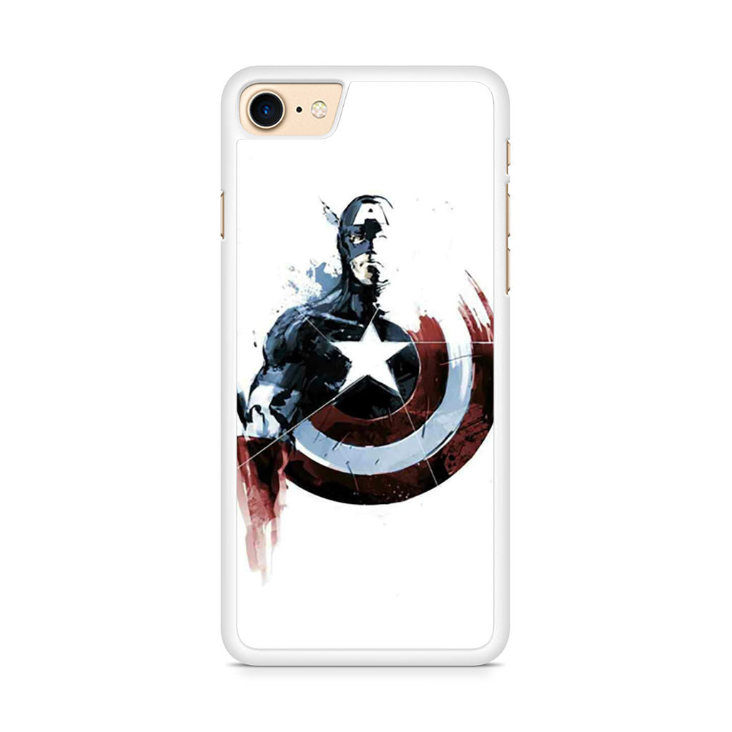 Captain America Painting iPhone 8 case