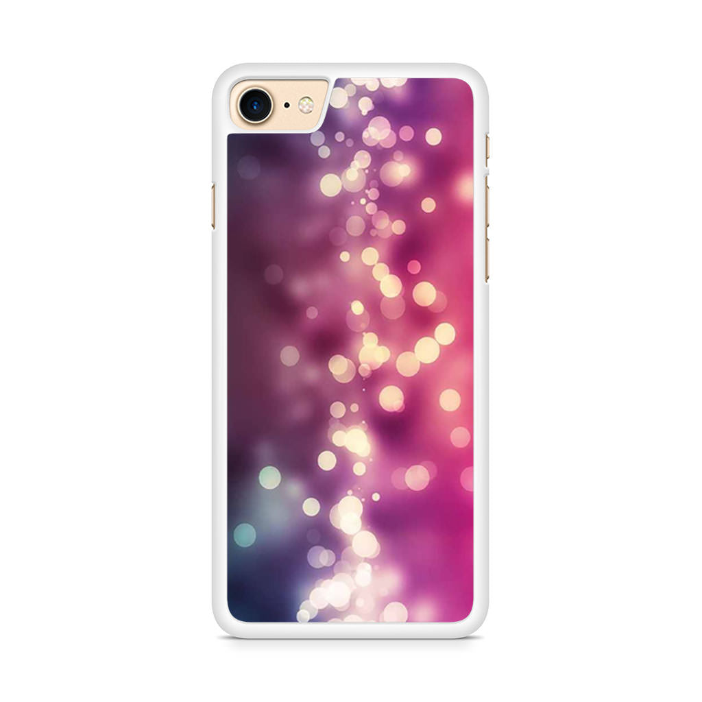Colorful Bokeh Art iPhone 8 case