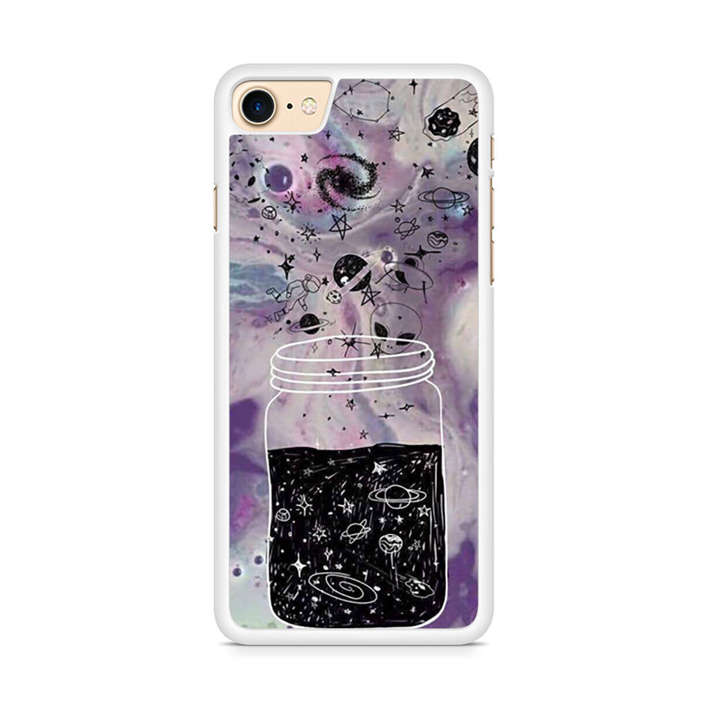 Astronauts, Aliens And Psychedelic iPhone 8 case