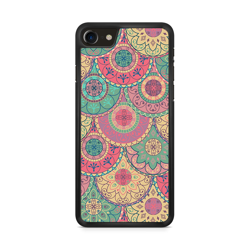 Abstract Mandala iPhone 8 case
