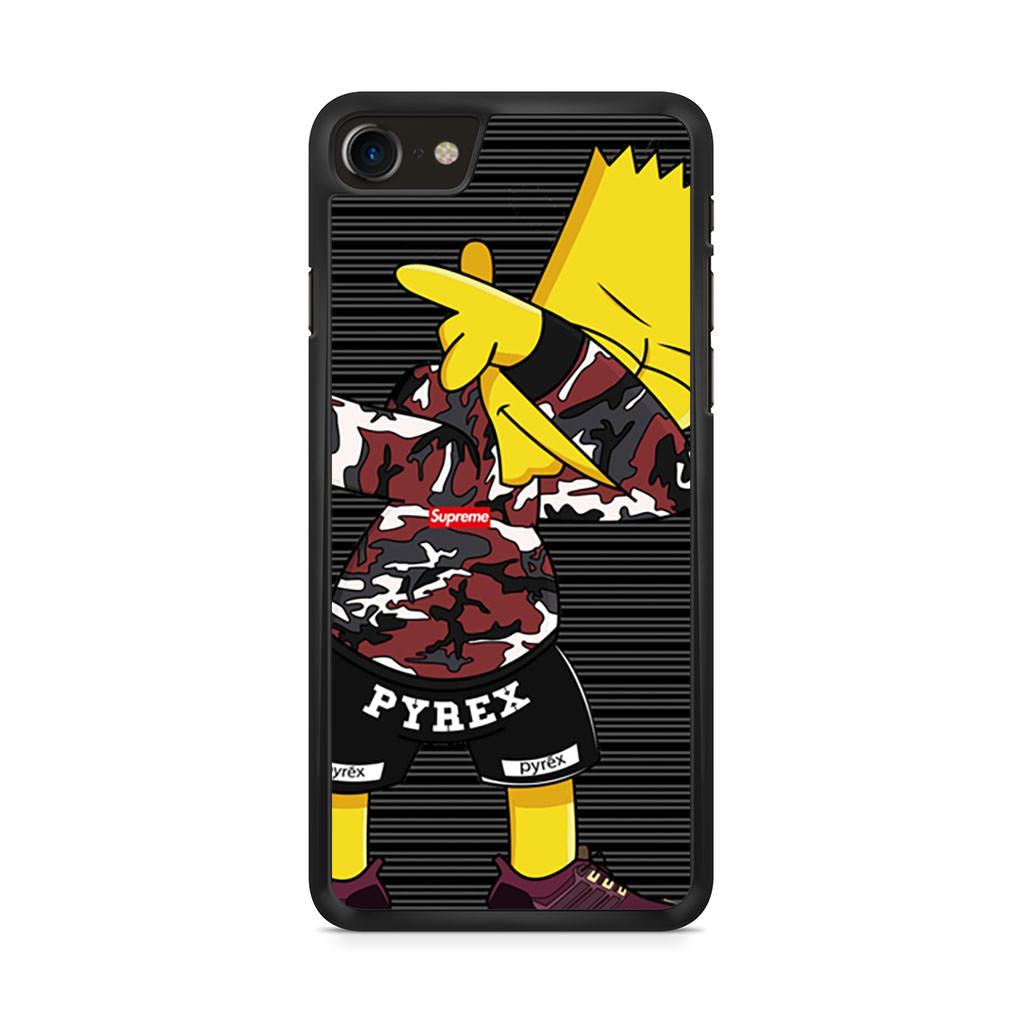 Bart Simpson Supreme iPhone 8 case