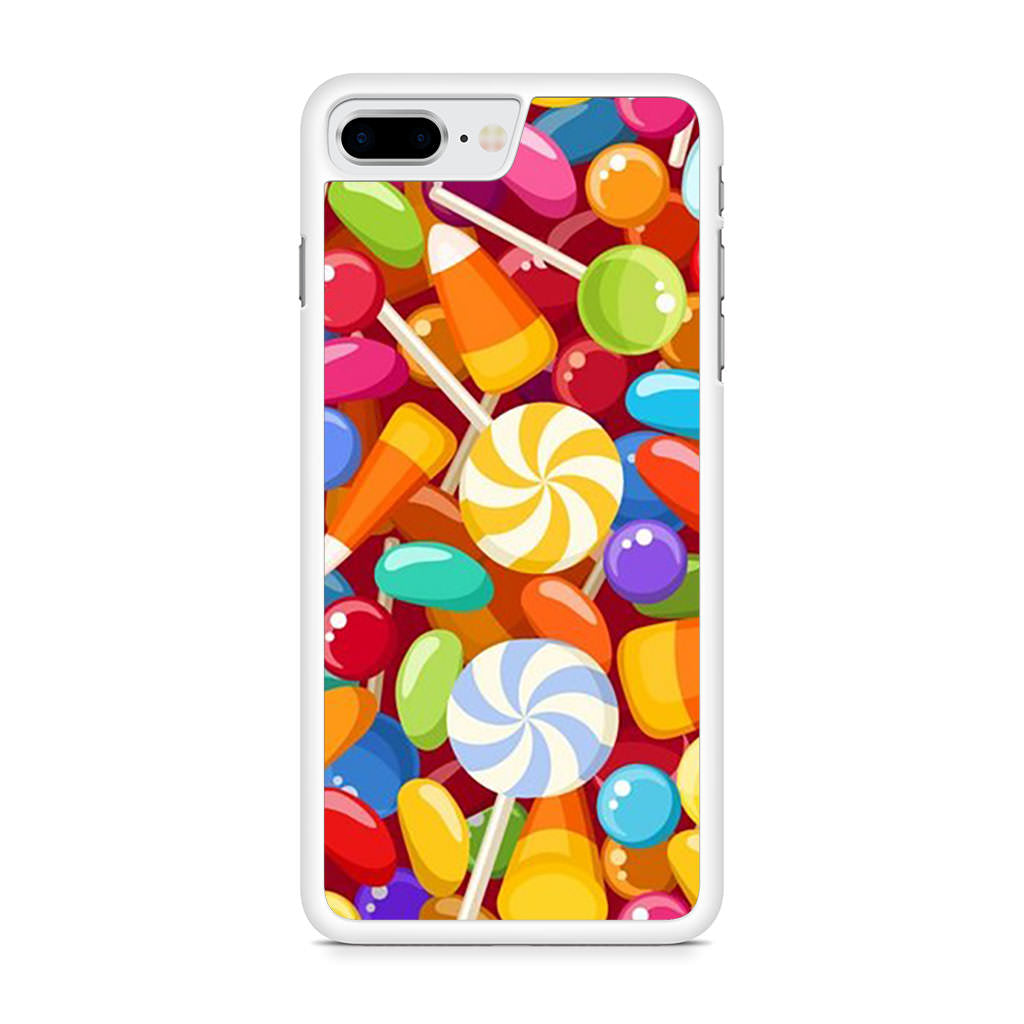 Candy Illustration iPhone 8 Plus case