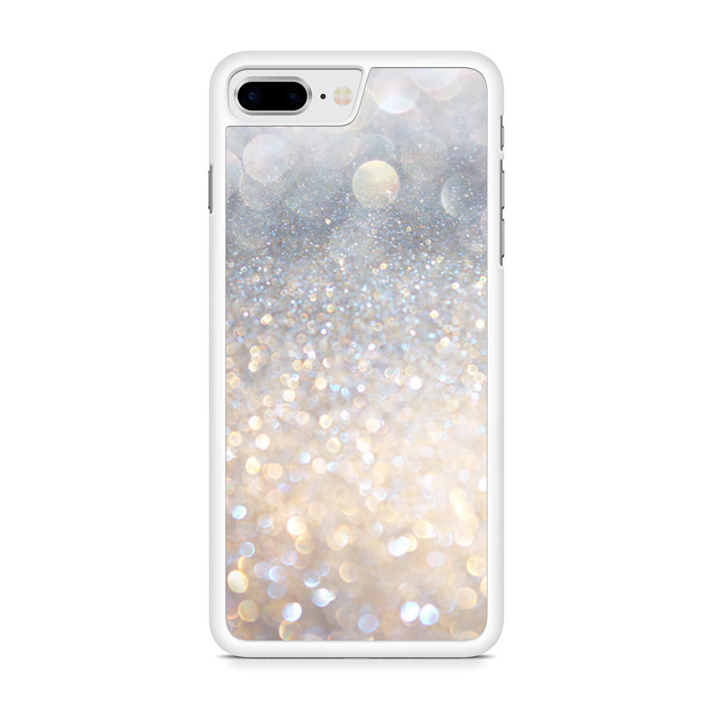 Blowing Glitter Lights iPhone 8 Plus case