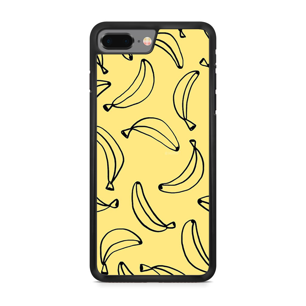 Bananas Yellow iPhone 8 Plus case