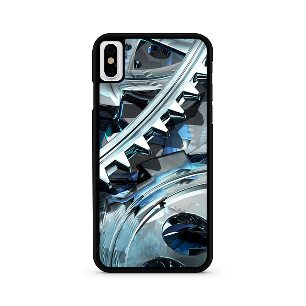 3D Cool Wheel Gear iPhone X case
