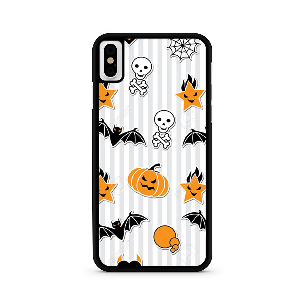 Halloween Pattern iPhone X case