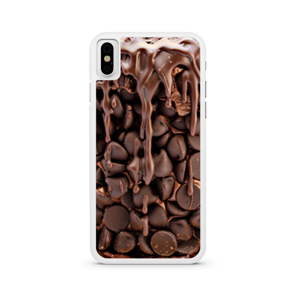 Chocolate Wasted Cake iPhone X case