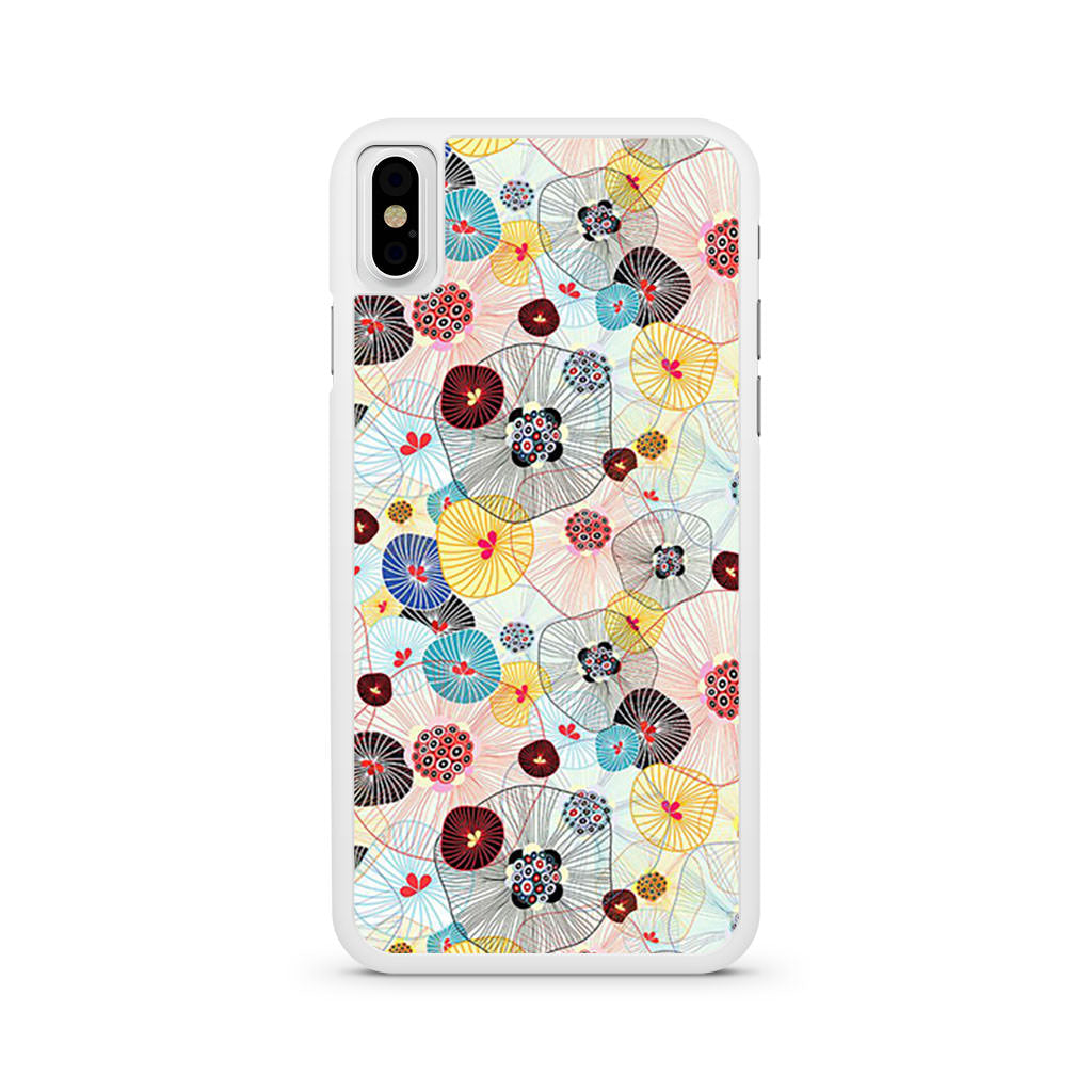 Abstract Cells iPhone X case