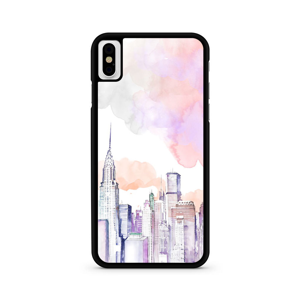 City Drawing iPhone X case