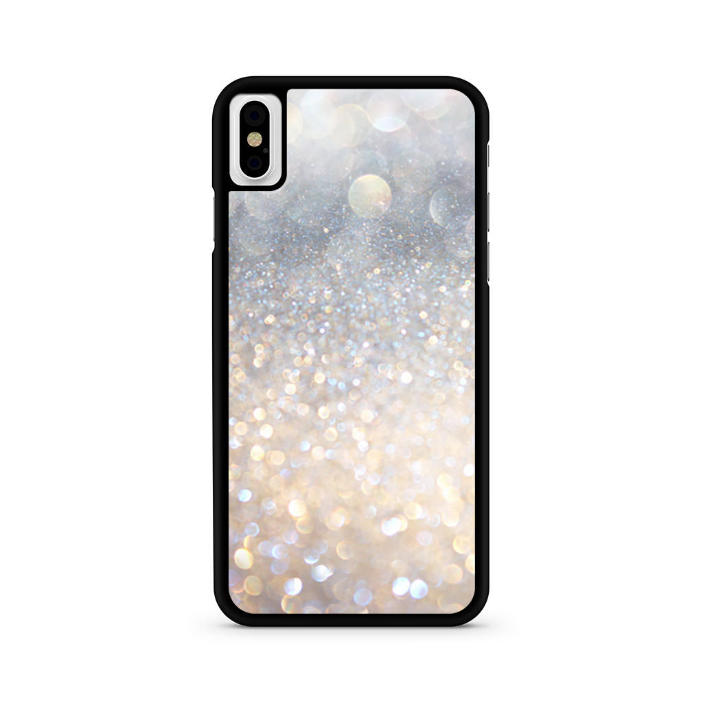 Blowing Glitter Lights iPhone X case