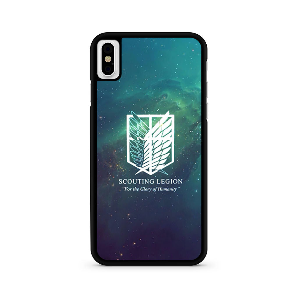 Attack On Titan Scouting Legion iPhone X case