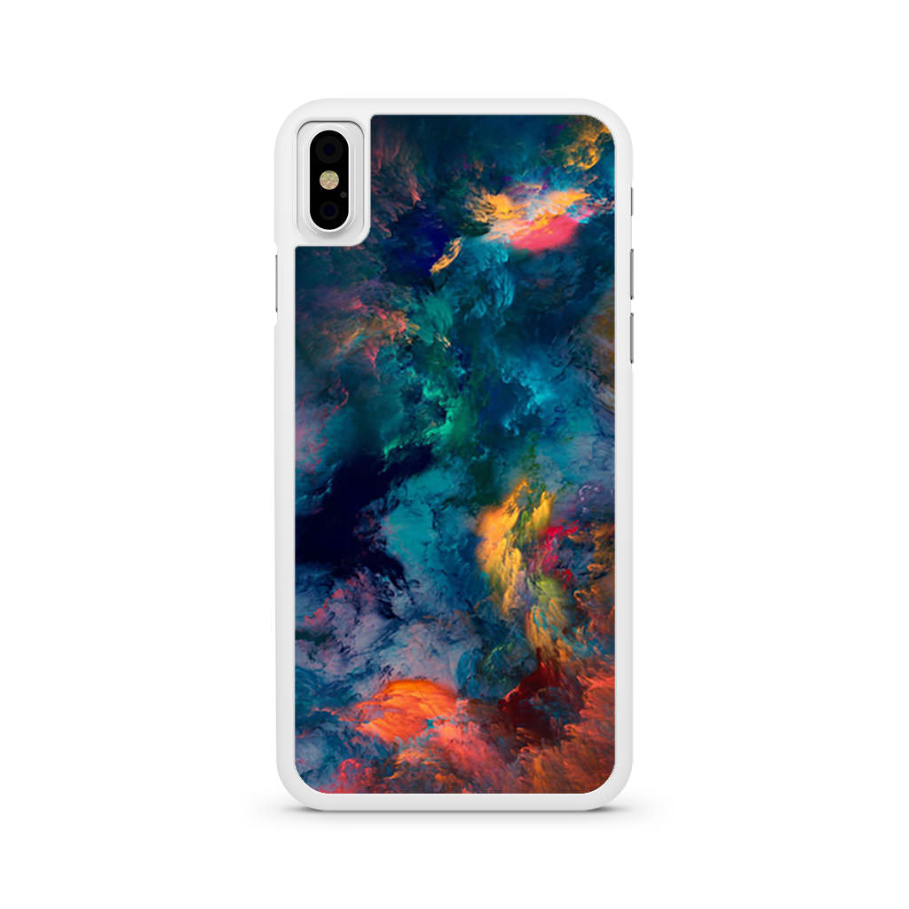Colorful Eye Candy iPhone X case
