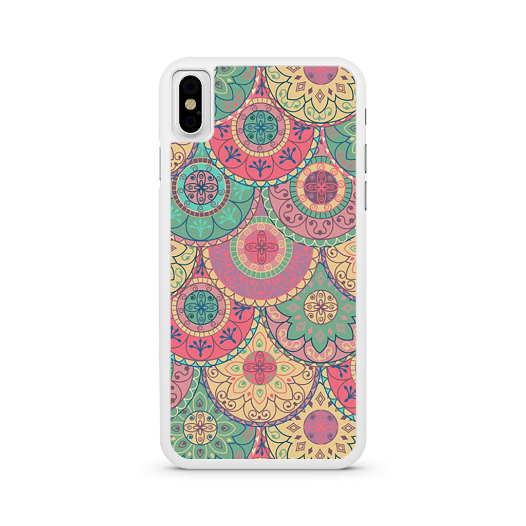 Abstract Mandala iPhone X case