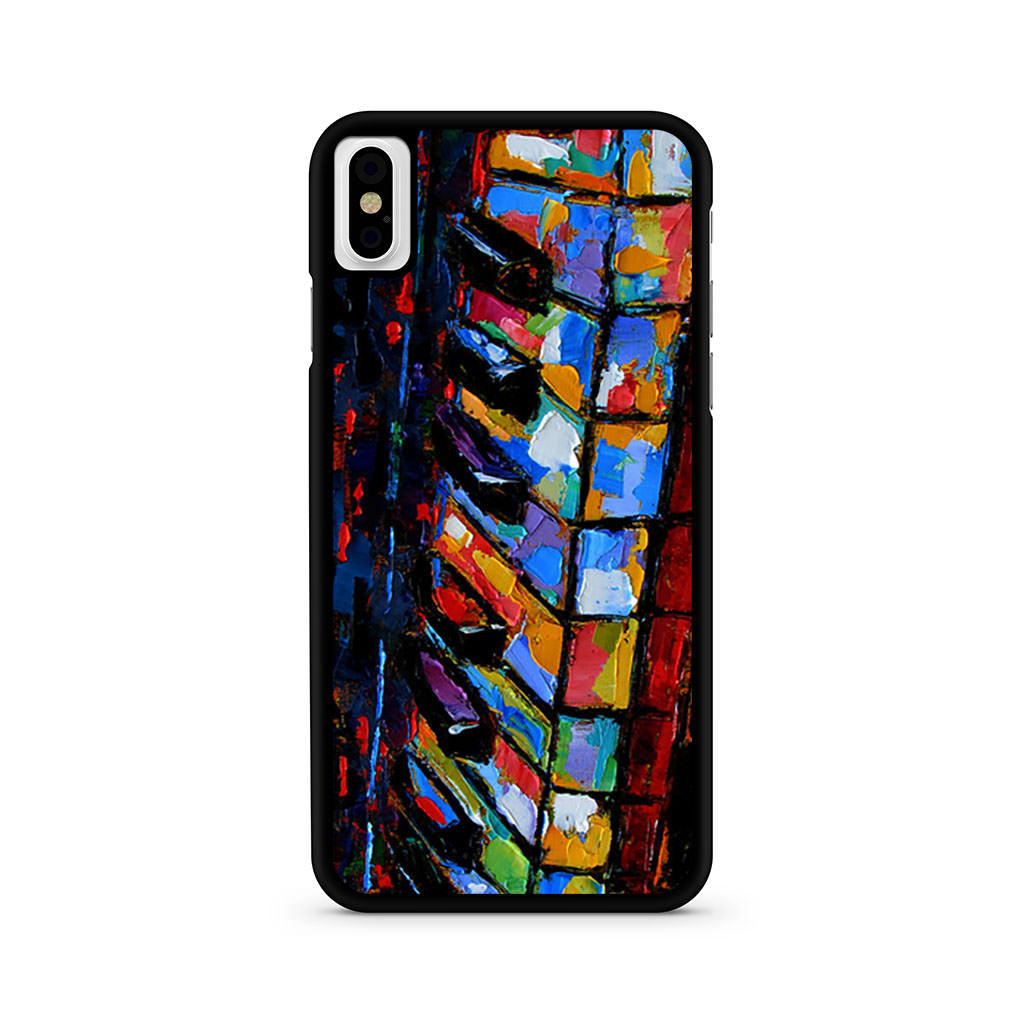 Abstract Piano Art iPhone X case