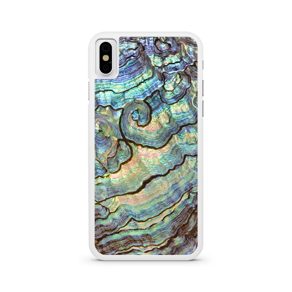 Abalone Green iPhone X case