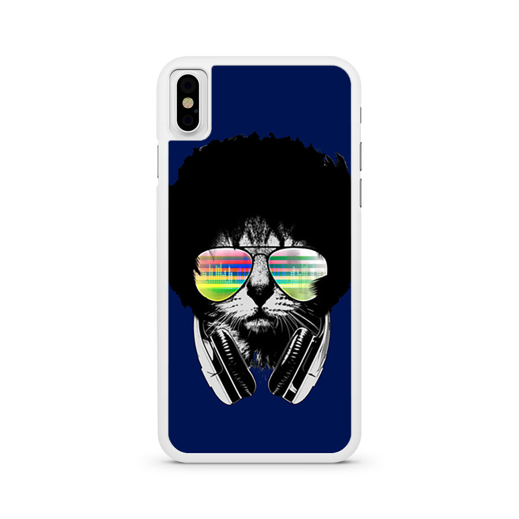 Afro Cat iPhone X case