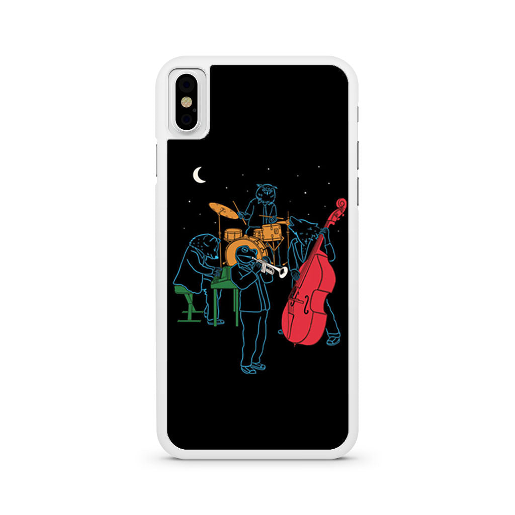 Animals Plays Jazz iPhone X case