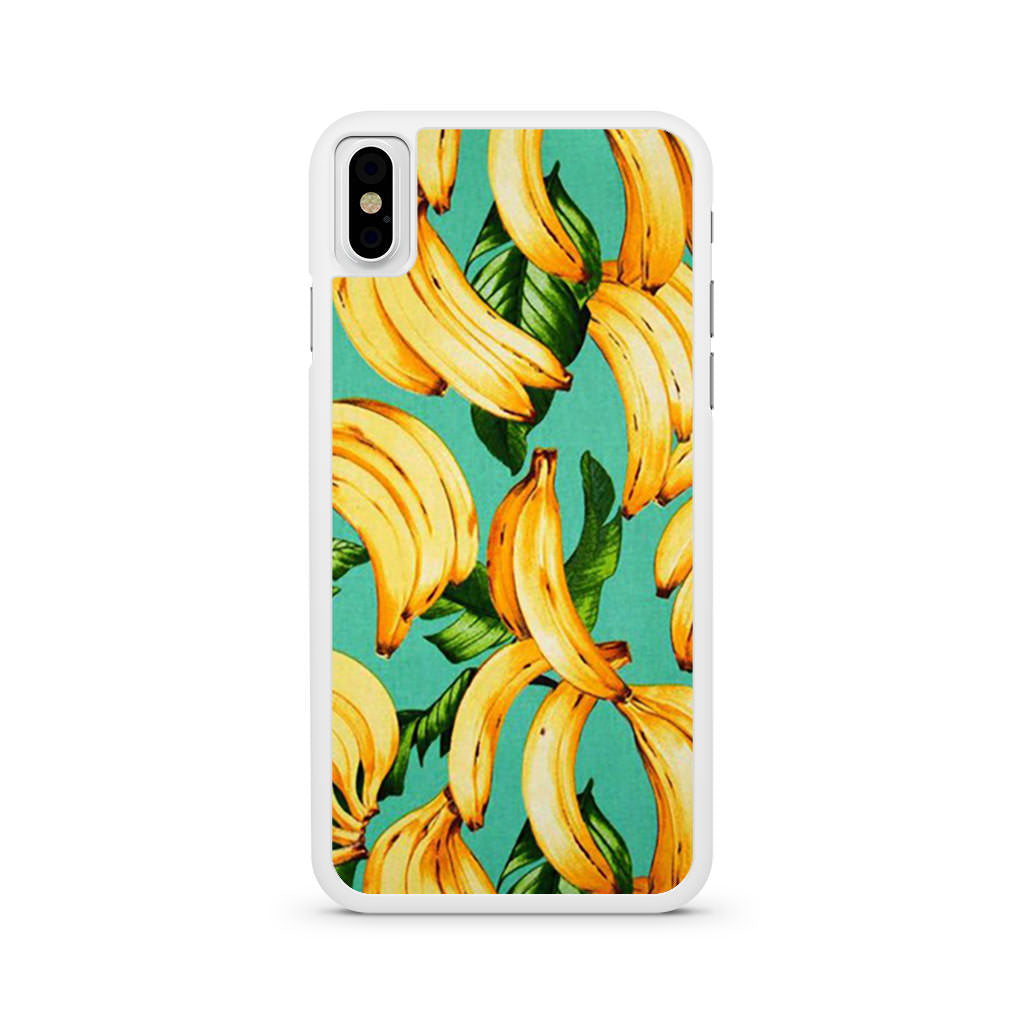Banana Pattern iPhone X case
