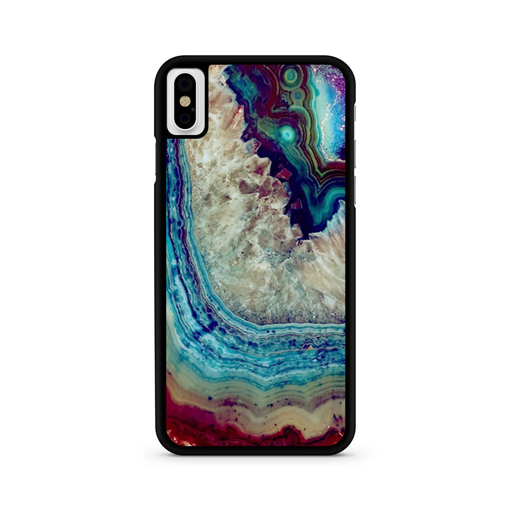 Agate Rug iPhone X case