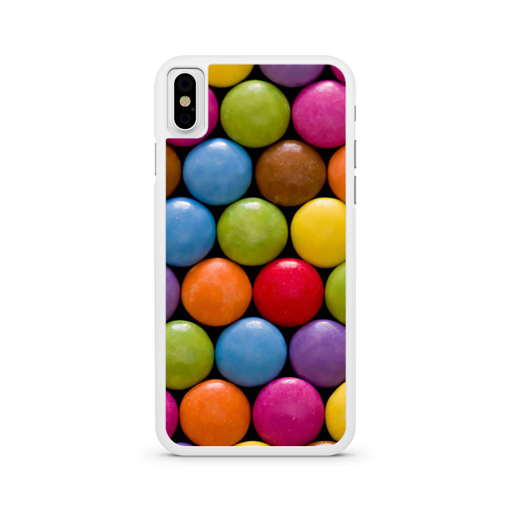 Candy Pattern iPhone X case