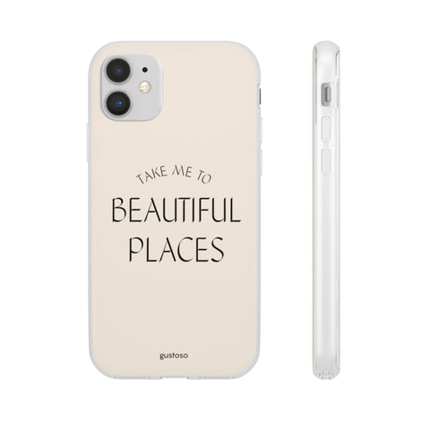 Beautiful Places iPhone Case