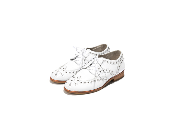 Studs Wing tip Shoes