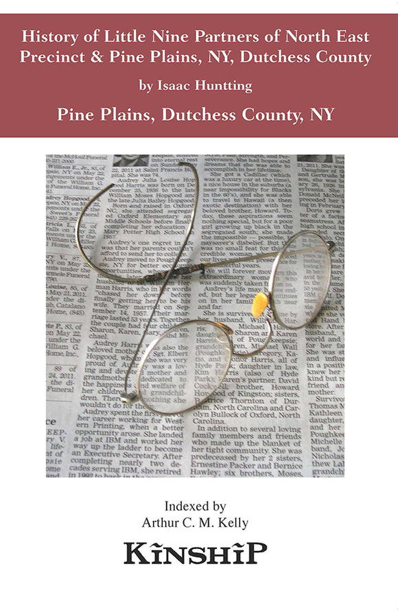 History of Little Nine Partners of North East Precinct & Pine Plains, NY, Dutchess County