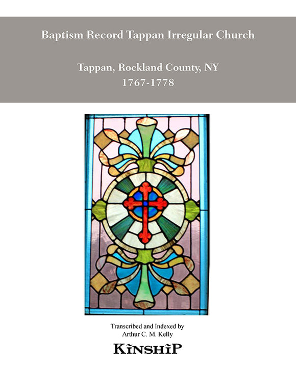 Irregular Church at Tappan, Rockland County, NY 1767-1778