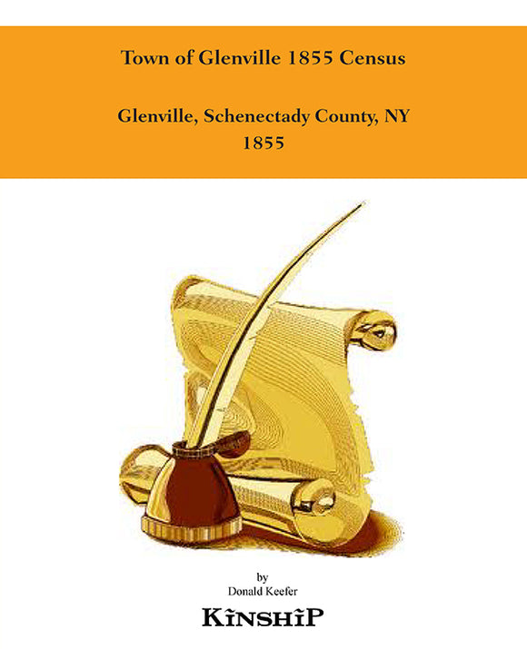 Town of Glenville 1855 Census
