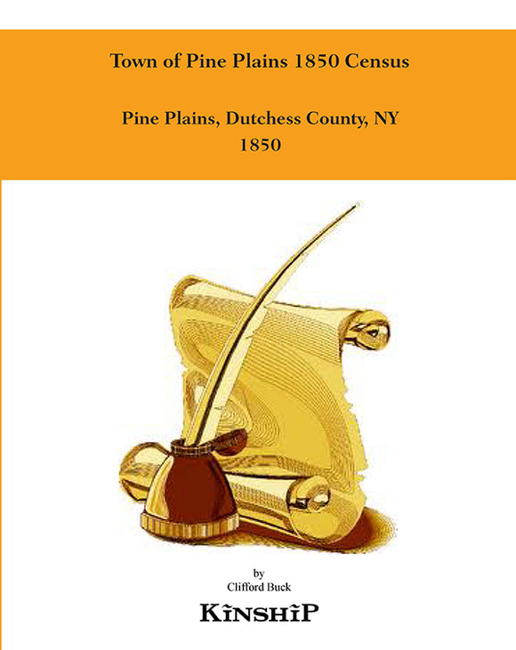 Town of Pine Plains 1850 Census
