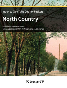 Index to Tree Talks County Packets - North Country