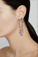 Big Rain Earrings Silver