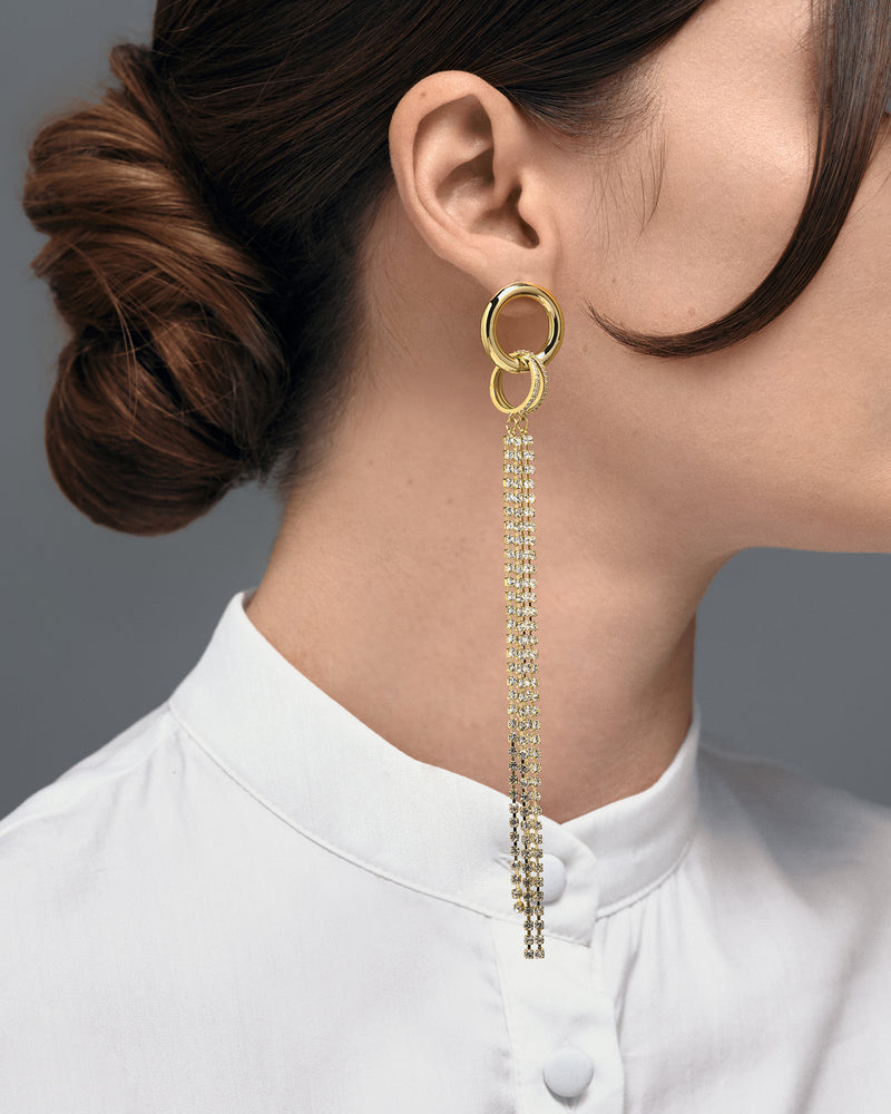 EARRING CARRE' GOLD