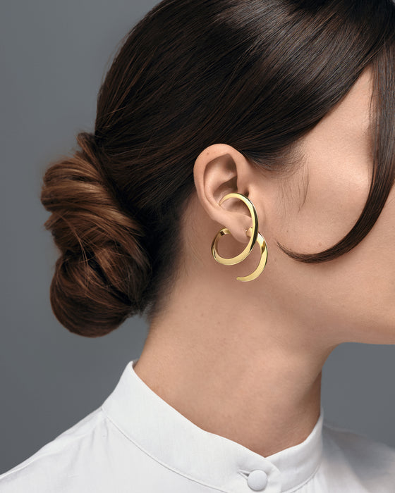 EARRING BROOKE BASIC GOLD