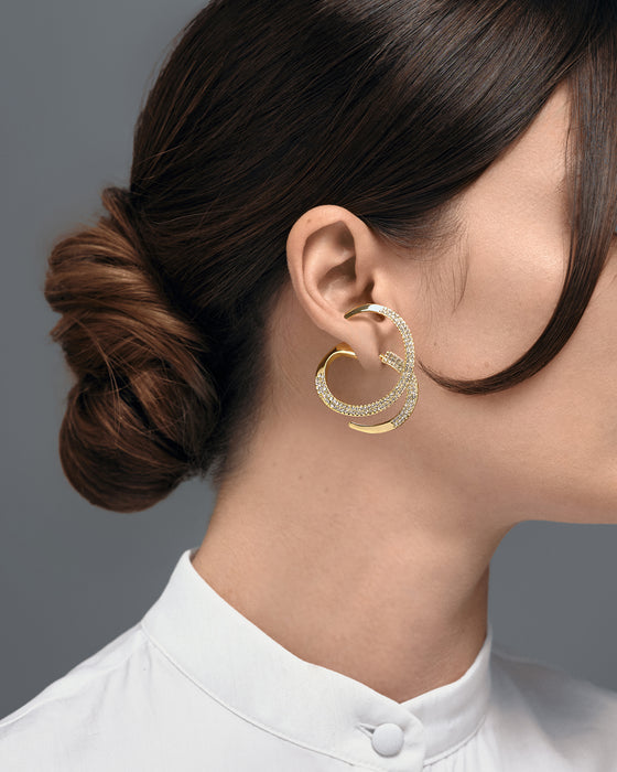 EARRING BROOKE GOLD