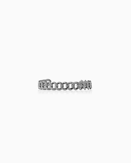 BRACELET CHAIN RUTHENIUM